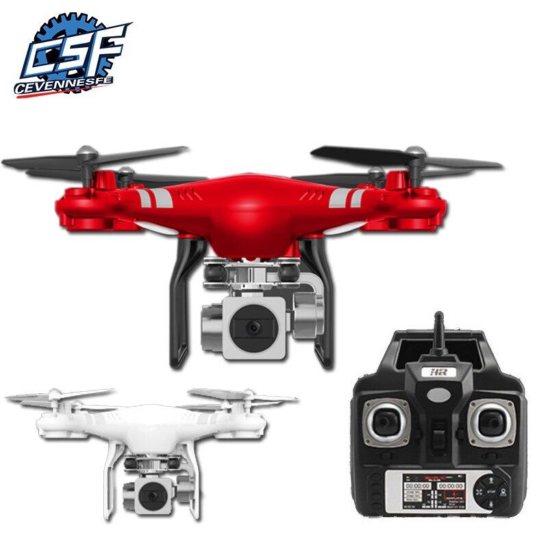 5MP HD Cámara Drone Wifi FPV en Quadcopter inteligente altitud Hover helicóptero RC 2,4G 6 ejes Gyro Drone los drones con cámara
