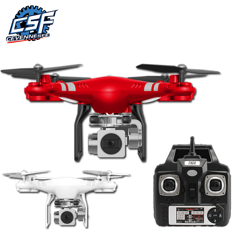 5MP HD Caméra Drone Wifi FPV En Direct Quadcopter Intelligent Maintien D'altitude Hover RC Hélicoptère 2.4G 6 Axe Gyro Drone drones avec caméra