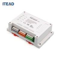 ITEAD Sonoff 4ch Channel Remote Control WiFI Switch Home Automation Module Wireless Timer DIY Switch