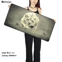 Mairuige Animal Lion Mouse Pad Large Pad Laptop Mouse Notbook Computer Creative Rubber Mat Gaming Mousepad For LOL CSGO DOTA
