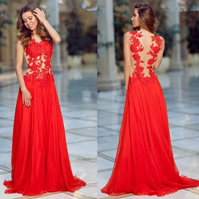 c2535b7779 Opacidad volver Champagne y vestidos noche rojos para el partido de noche  de estilo árabe vestidos