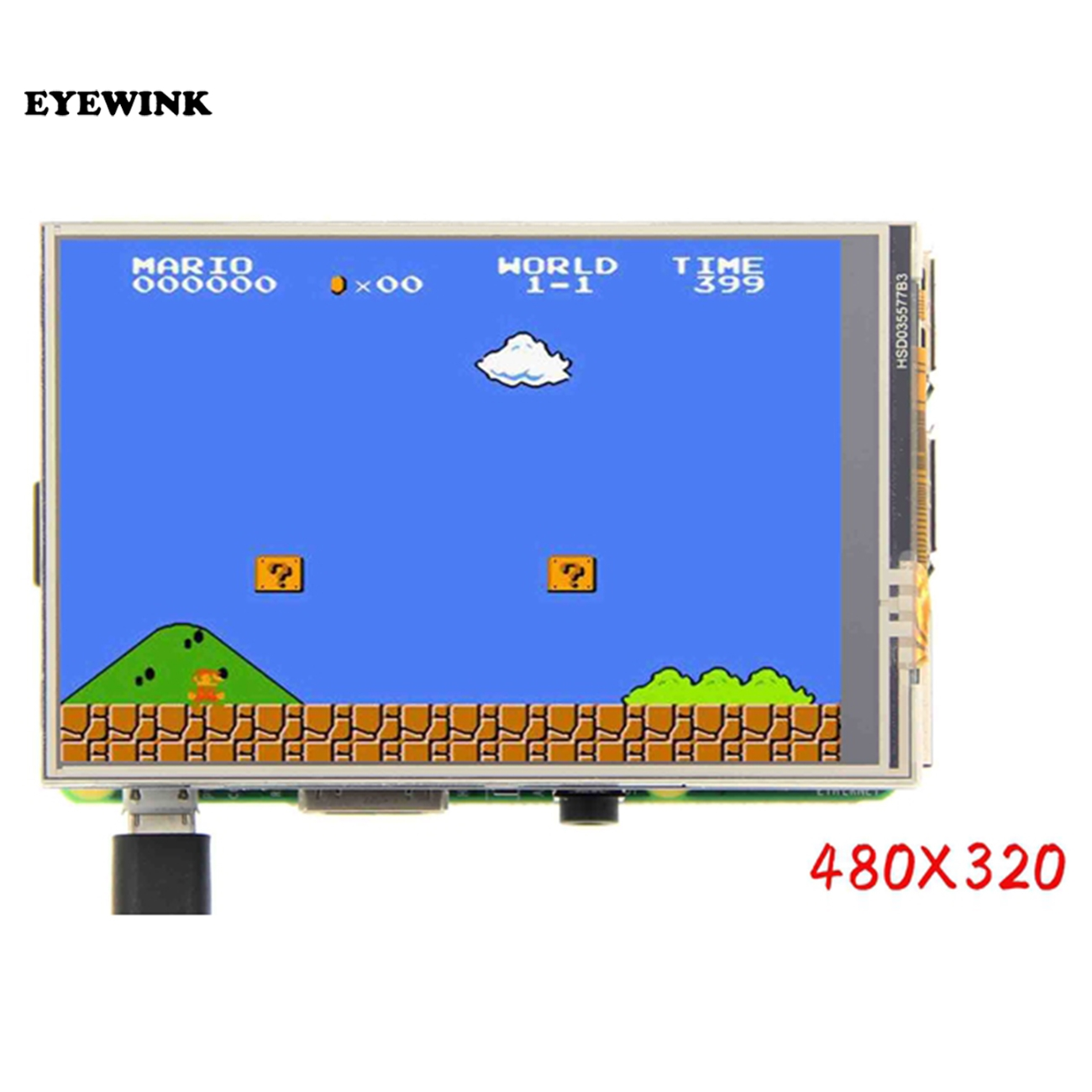 US $13 49 5% OFF MHS 3 5 inch For Raspberry Pi color TFT LCD screen  supports retropie games-in LCD Modules from Electronic Components &  Supplies on