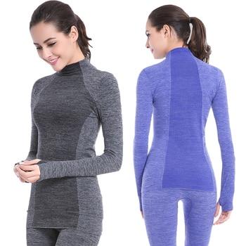 Women's Winter Thermal Underwear Anti-microbial Warm Long Johns