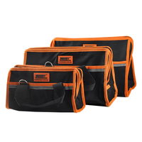 New High Level Large Professional Tool Bag Multifunctional Electrician Tool Bag Waterproof Oxford Tools Kit Pockets