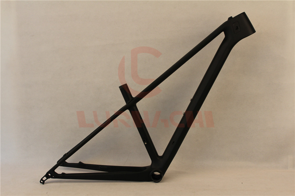 LURHACHI CMF25 29er MTB Bike Frame Thru Axel 29 Inch Mountain Bicycle Carbon Frame Size 13.5/15.5/17.5 inch рубашка fore axel