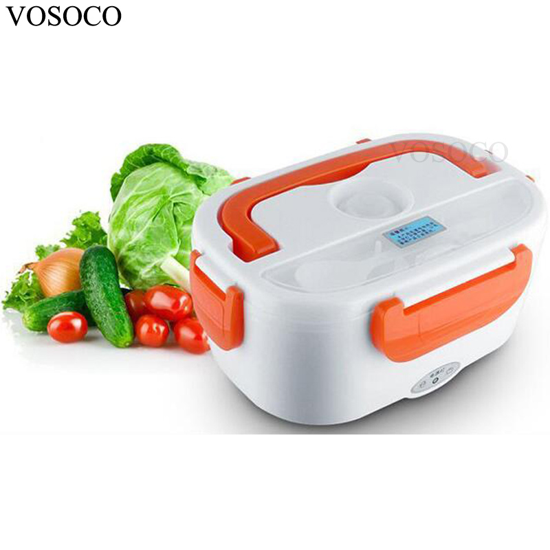 VOSOCO Electric heating lunch box electric heating 1L mini thermal insulation lunch box 220V 40W 50Hz 3d unicorn dessert coffee office pouch thermal insulated neoprene lunch bag women kids lunchbags cooler insulation lunch box