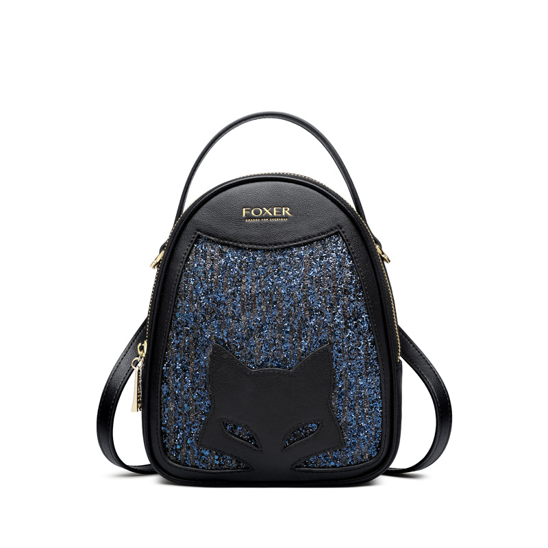 Cowhide Glitter Leather Mini Shining Handbags Women Small Shoulder Bags Lady Qute Mini Totes Fashion Design High Qulity