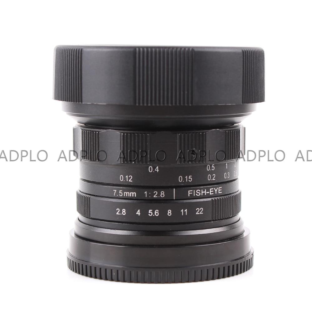 APS-C CL-Mil7528N 7.5mm F2.8 Fish-eye groothoeklens voor Fujifilm FX - Camera en foto - Foto 4