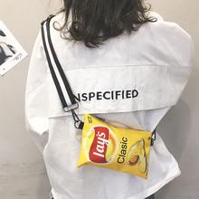 Ins super fire on the new small bag female 2019 new wave Korean version of the funny girl obli...