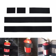 5pcs Car Trunk Fire Extinguisher Strap for vw sportsvan pajero sport 3 jeep compass 2008 Safety Cargo Belt Holder Organizer(China)