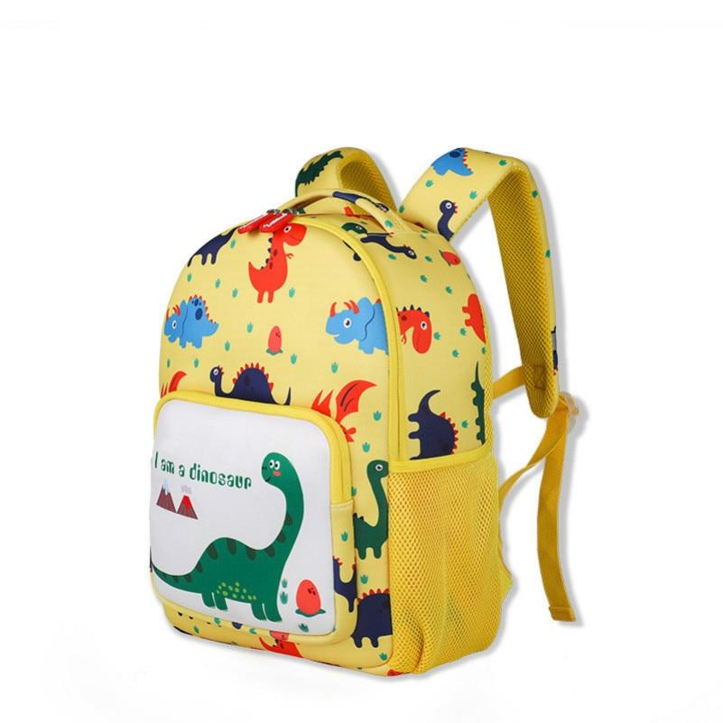 Kindergarten childrens dinosaur school bag 3-6 years old anti-lost cartoon backpack bookbag  women back packKindergarten childrens dinosaur school bag 3-6 years old anti-lost cartoon backpack bookbag  women back pack