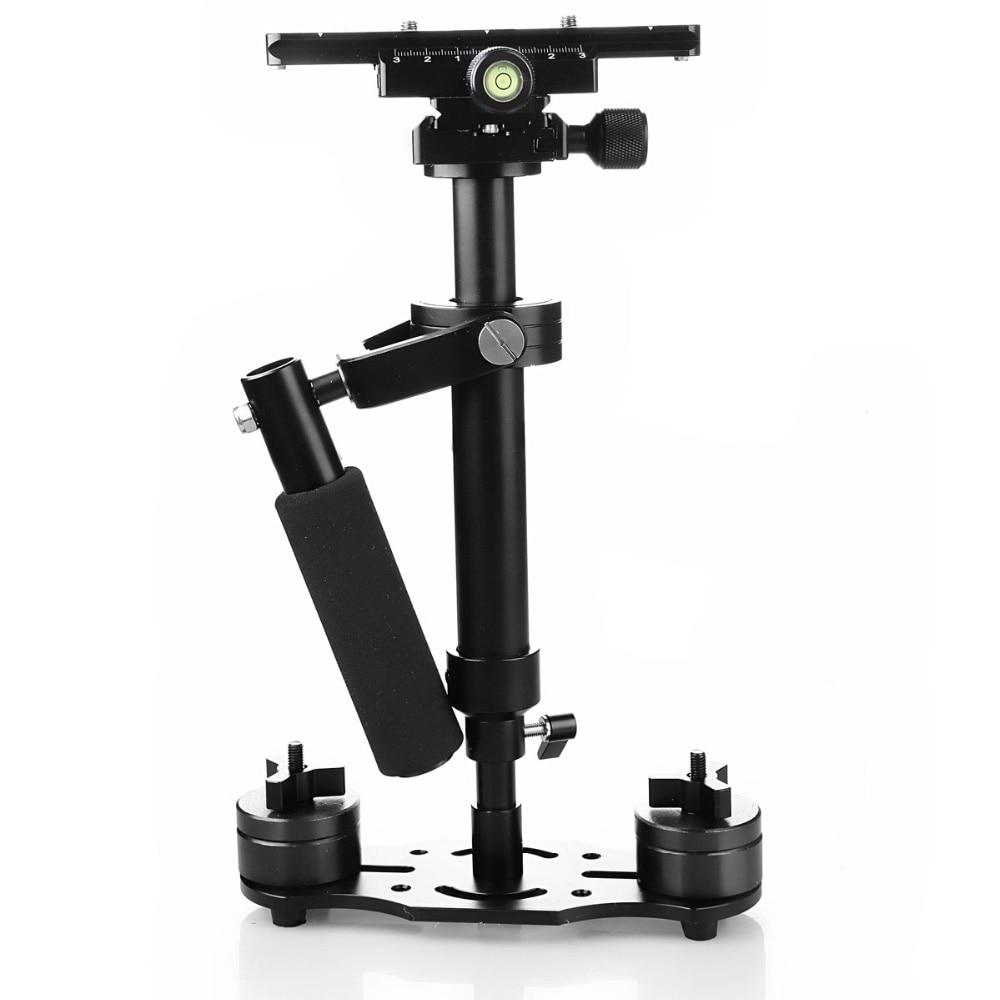 Stabilisateur de poche S40 S60 S80 stabilycam extensible en Fiber de carbone Steadicam pour caméra C N S DSLR Compact Camcorde cd50