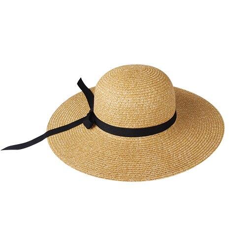 FURTALK Chapeau de soleil pour femme UPF 50 Chapeau de plage Chapeau de paille avec large bord