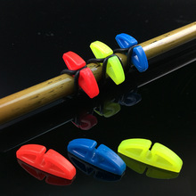 10 Sets Plastic Fishing Hook Secure Keepers Holders Lures Jig Hooks Safe Keeping for Fishing Rod Fishing Accessories