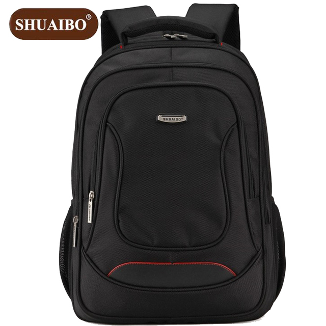 72e3d8c505e3 Shuai Hot Sale School Bags Fashion Leisure Men s Backpack Business 16 inches  Laptop Bag High-quality Oxford Travel Backpack Z649