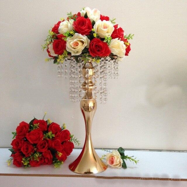 Aliexpress Buy 2017 Wedding Bouquet Flower Ball Centerpieces