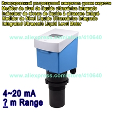 Various Range Available Integrated Ultrasonic Water Level Gauge Ultrasonic Level Meter Liquid Level Sensor 4 to 20 mA In Default все цены