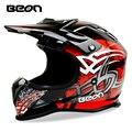 Nueva llegada beon casco de motocross, bicicleta de montaña cuesta abajo casco profesional casco off-road moto casco capacete motociclistas