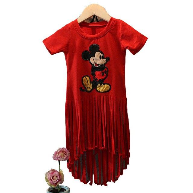 Kids Girls Mickey Mouse Dresses for GirlsVestido Minnie T-Shirt Dress1  sc 1 st  AliExpress.com & Kids Girls Mickey Mouse Dresses for GirlsVestido Minnie T Shirt ...