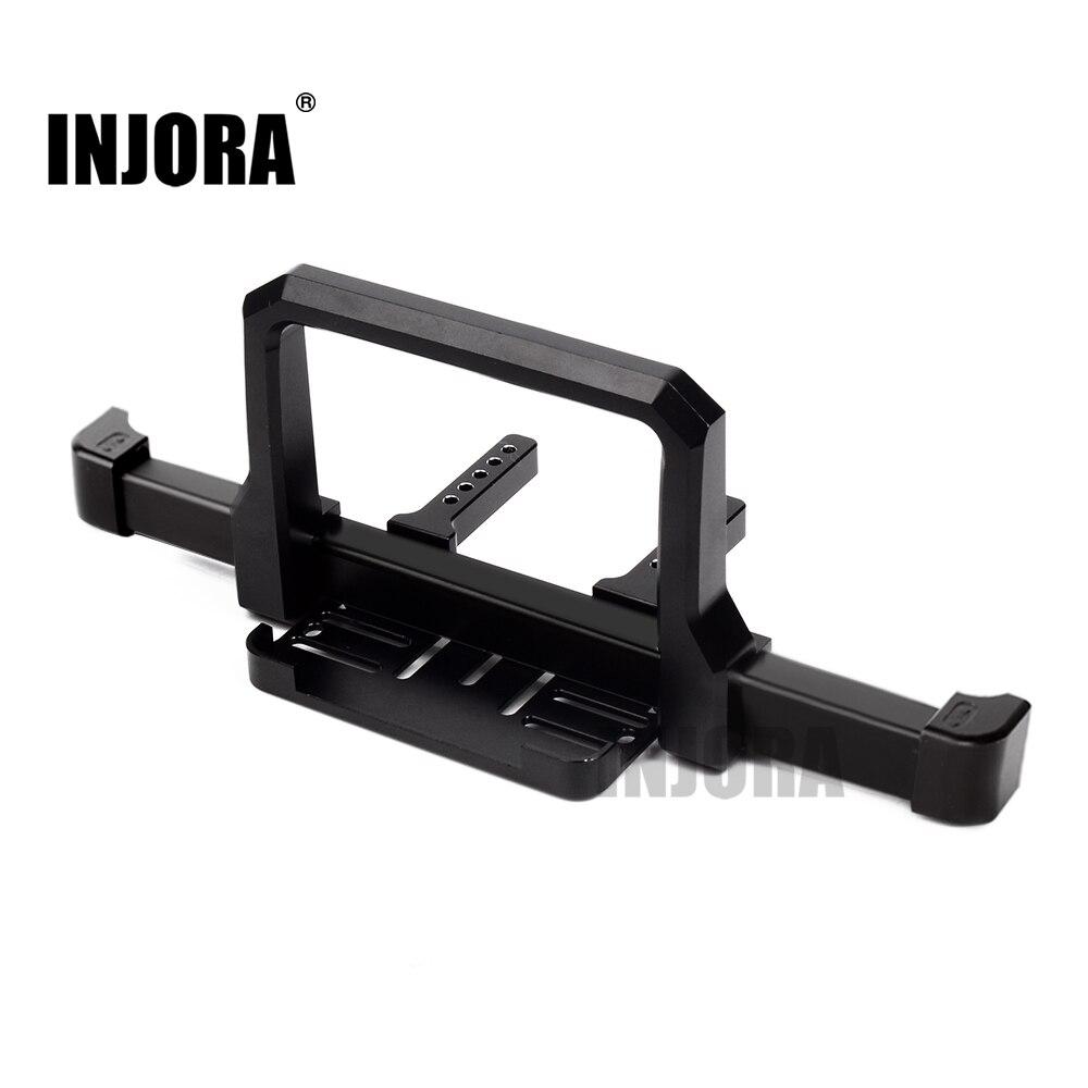 INJORA RC Car TRX4 Classic Metal Front Bumper For 1/10 RC Crawler Traxxas TRX-4 Upgrade Parts