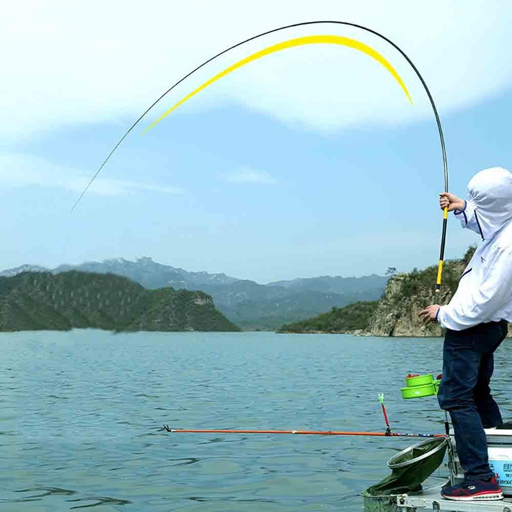 pesca mão pólo alimentador para a pesca