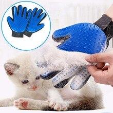 Pet Brush Glove Dog Cat Soft Silicone Grooming Comb Washing Deshedding Massage Tool Kit Hair Remover