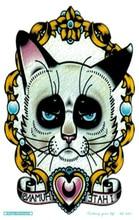 MC683 19X12cm Sailor Moon Tattoo Sticker Body Art Muse Cat Kitty Designer Temporary Tattoo Terrorist Stickers Flash Taty Tatoo
