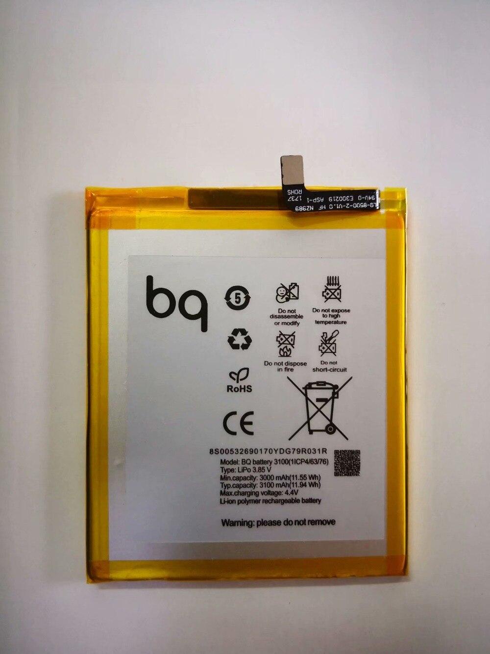 3100mAh High Quality Replacement Battery For BQ Aquaris X X Pro Batterie Bateria Accumulator AKKU ACCU Phone