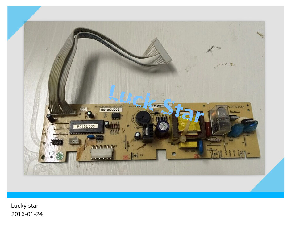 95% new for Electrolux refrigerator computer board circuit board BCD-182E 195EL H010CU001 P010U001 board good working стоимость