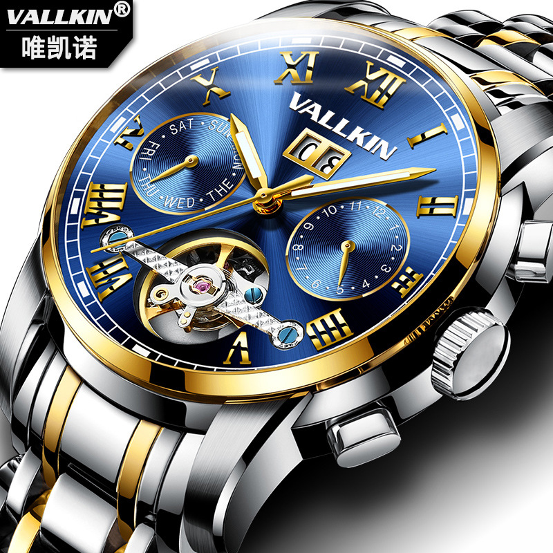 Men Automatic Mechanical Watches Tourbillon Top Brand Luxury Stainless Steel Watch Mens Sport Wrist Watch Male Relogio Masculino mce automatic watches luxury brand mens stainless steel self wind skeleton mechanical watch fashion casual wrist watches for men