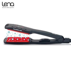 Image 2 - レナLN 84Wプロフェッショナルクリンパーコルゲーション髪カーリング鉄カーラー段ボール鉄スタイリングセラミックプレートカーリング髪スタイラー