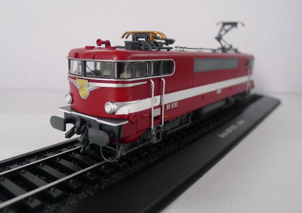Atlas série bb 9292 (1964) comboio 1/87 diecast modelo