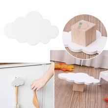 Новые милые крючки для облаков деревянная вешалка одежды Настенный