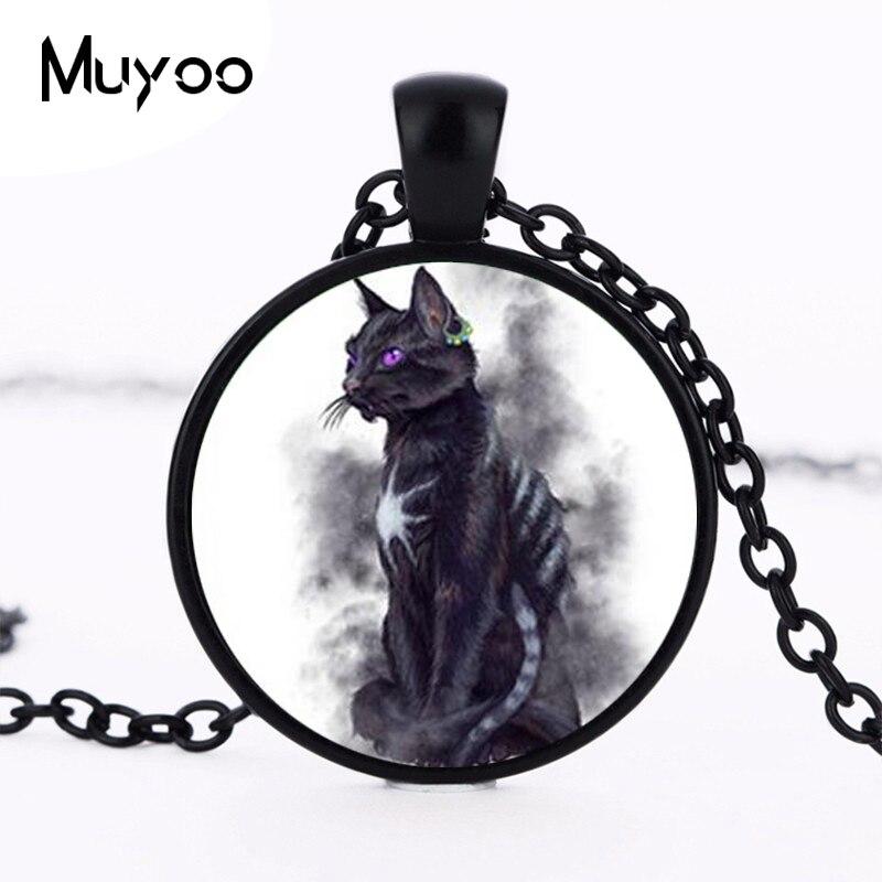 Aliexpress Com Buy 1pcs Lot Cat Sidhe Round Shaped Pendant