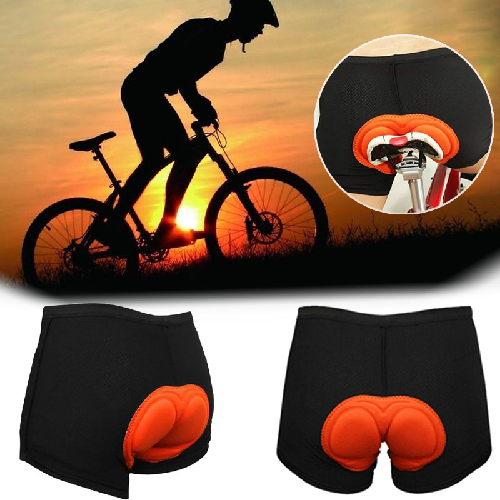 Summer Bicycle Shorts Padded Bike Riding Pants Short MTB Sports Breathable Cycling Short Trousers With Soft Comfortable Sponge
