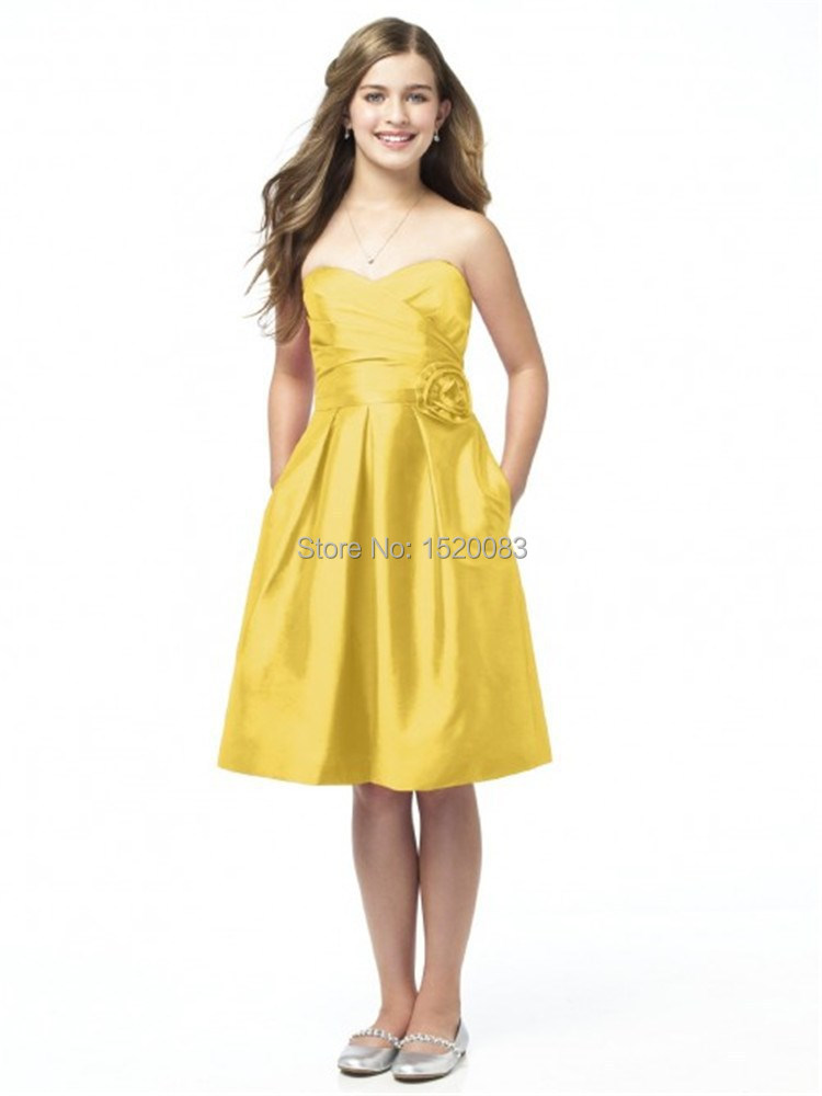 Online Get Cheap Yellow Junior Dresses -Aliexpress.com | Alibaba Group