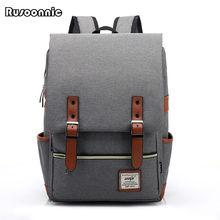 Fashion Men Bag Canvas Backpack Women Oxford Travel Bags Retro Backpacks Teenager School Bag Women Famous Brands Mchila Mochilas