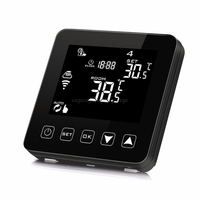 WiFi Programmable Thermostat Echo Alexa Voice Control Electric Floor Heating Room Temperature Control 16A 100-240V