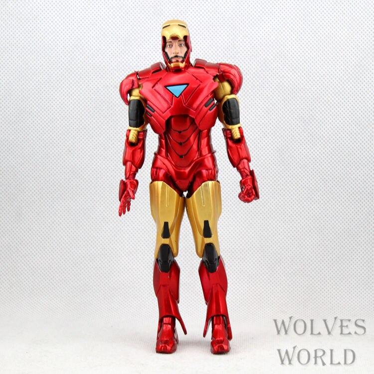 Marvel Iron Man 3 Action Figure Superhero Iron Man Tonny Mark 42 PVC ...