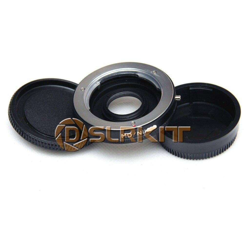 Lens Mount Adapter Ring for Minolta MD MC Lens and NIKON D90 D800 D700 D300