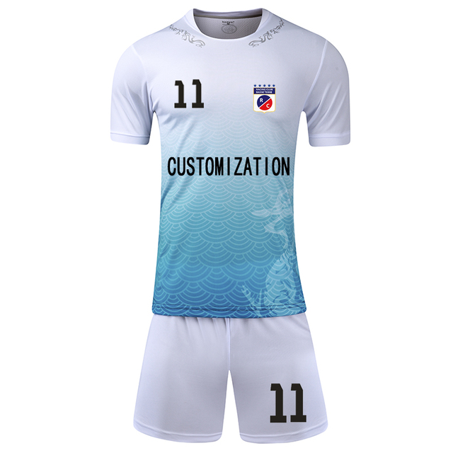 0d6eae43c Kids Adult personality Soccer Jersey Set survetement Football Sports Kits  Futbol Shirts Shorts Uniforms Maillot De Foot Jersey