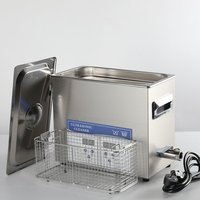 2 liter ultrasonic cleaner for clock movements with Stainless steel basket