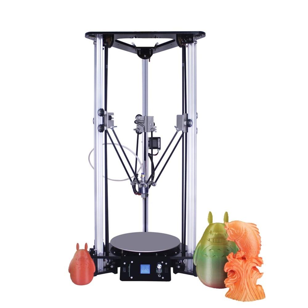 цена на EZT Desktop DIY Industrial High Precision Hot Bed Leveling 3D Printer Kit Large Printing Size 180*180*320mm