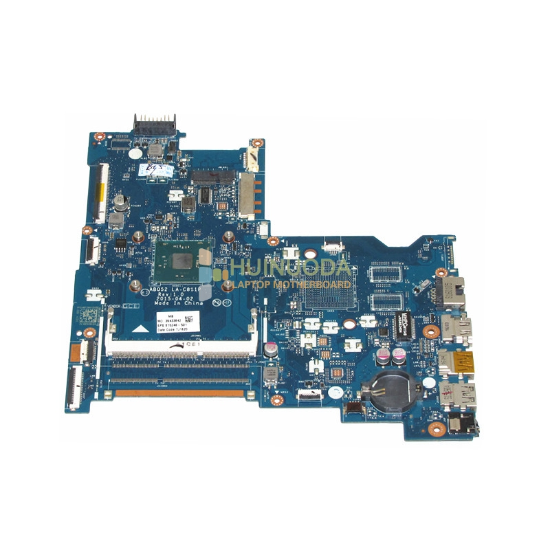 815248-501 Main Board For HP 15-ac 15-ac505tu Sr29h Laptop Motherboard ABQ52 LA-C811P Uma Celeron N3050 CPU 1.6 Ghz DDR3 766713 501 766713 001 for hp beats 15z p 15p 15 p laptop motherboard day23amb6f0 a8 5545m 1 70ghz cpu ddr3