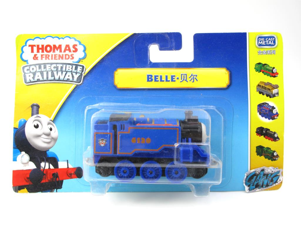 1:64 Diecasts Vehicles Thomas T008N BELLE Thomas And Friends Magnetic Tomas Truck Engine Railway Train Toys for Boys NIB