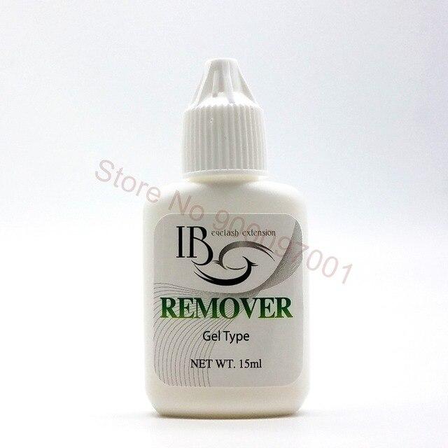 เกาหลี IB 15 กรัม Professional Eyelash กาวกาว Debonder เจล Eyelashes แต่งหน้า Remover เครื่องมือ 10 ชิ้น/ล็อต
