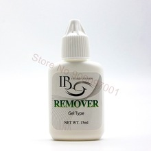 Korea IB 15G Professional Eyelash Glue Remover Adhesive Debonder Gel Type Eyelashes Extension Makeup Removers Tool 10 pieces/lot