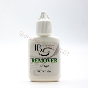 Image 1 - Korea IB 15G Professional Eyelash Glue Remover Adhesive Debonder Gel Type Eyelashes Extension Makeup Removers Tool 10 pieces/lot