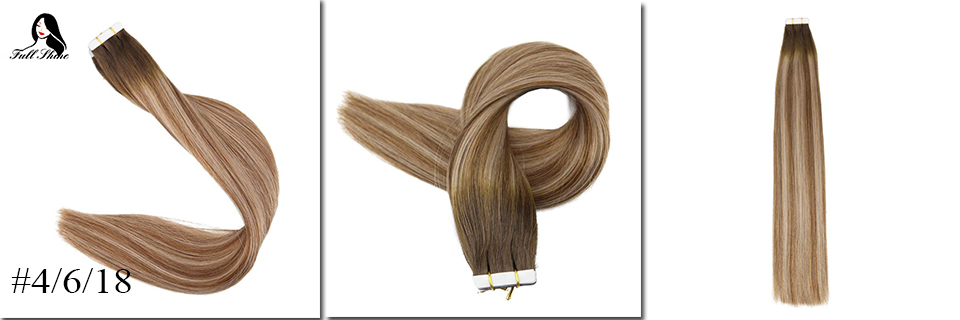 Humano Balayage Hair Remy 10