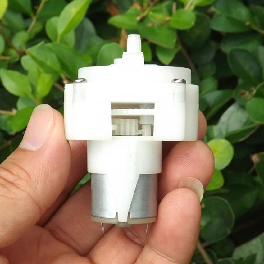 Sanitär Miniatur Getriebe Pumpe Dc Motor Wasser Pumpe Dc 5 V 0.4l/min öl Pumpe Selbst-pumpe Micro Wasser Bohren Maschine Pumpen Pumpen, Teile Und Zubehör